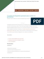 CANUDINHOS DE DOCE DE LEITE _ Ana Maria Brogui 5 receitas de brigadeiro