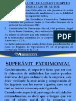 SUPERAVIT DE CAPITAL