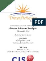 Dream Achievers Breakfast I