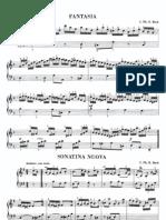 Bach Cpe Five Pieces b Minor