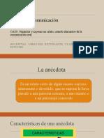 6.05 lenguaje la anecdota.pptx