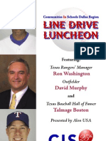 Line Drive Luncheon