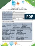 Guía para el desarrollo del componente práctico - Paso 5 y 6