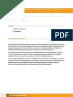 Competencias y actividades - Unidad 3