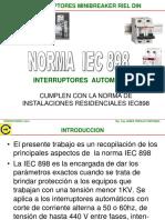 01   INTERRUPTORES  MINIBREAKER  REIL DIN   IEC 898  SET  2019   REV04