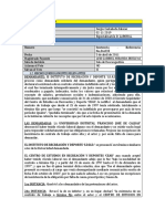 ANALISIS DE SENTENCIA No.36.035 - 2011