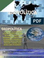 TEMA 1. INTRODUCCION A LA GEOPOLITICA