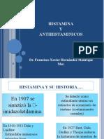 RECEPTORES HISTAMINERGICOS CLASE