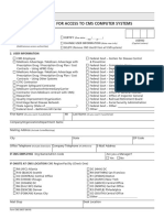 Access Form to Obama Care