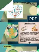 DETERMINACIÓN DJE CONSTANTES FÍSICAS