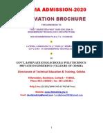 Diploma Admission Brochure 2020
