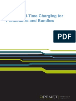 Using Real-time Charging for Promotions and Bundles