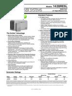 Kohler 20resl 14resl Specifications