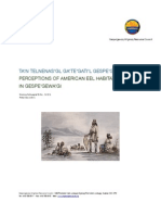GMRC American eel technical report