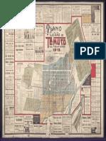 Plano de Temuco y sus poblaciones (1919)
