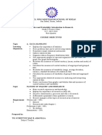 Statistics and Probability Introduction to Research IMR.docx