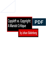 Copyright vs Copyleft- A Marxist Critique