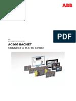 AC500 BACnet - Connect a PLC to CP600.pdf