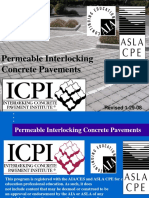 Permeable Interlocking Concrete Pavements
