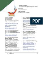 Code de la Famille de la RD Congo. Version 2017