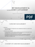 Category management & Category captainship