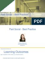 04 - Paid Social - Best Practice