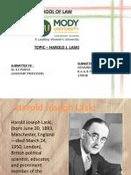 HAROLD J.LASKI
