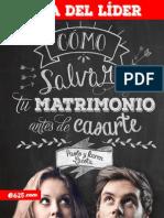 COMO SALVAR TU MATRIMONIO ANTES DE CASARTE - Guía