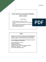 Cas cliniques 2015-2016