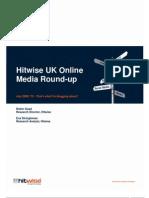 Hitwise UK Online Media Round-up