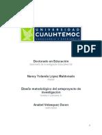3.3 Diseño metodológico  López Nancy