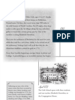 Salem Academy and College Timeline