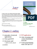 05 - Application Layer (P2P, CDN)