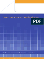 The Art and Science of Email Marketing
