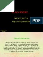 ALGO SOBRE___ SIGNOS DE PUNTUACIÓN