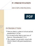 Danvers explosion