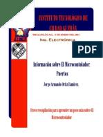 Microcontrolador (Puertos)