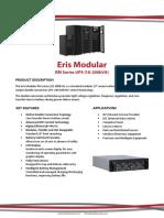 Eris Modular RM UPS (10-200kVA)