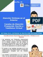 3. Atención Victimas en el Exterior