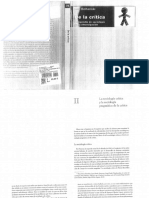 2014, Luc Boltanski, De La Crítica [Cap.2]