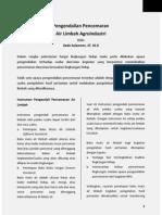 Pence Mar An Air Limbah Agroindustri