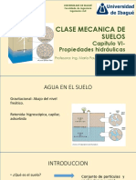 CAPITULO 6 PROPIEDADES HIDRAULICAS DE LOS SUELOS