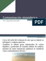 contaminación atmósferica-fuentes