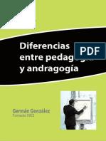 Andragogía y pedagogía