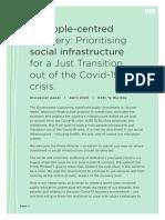 NZEI Te Riu Roa - Social Infrastructure Discussion Paper
