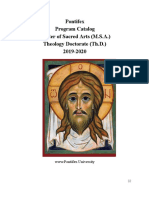 2 Feb 2020 Program Catalog_2019-2020 MSA, Th.D, - Google Docs