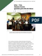 Dom Pedrito – Três personalidades foram..