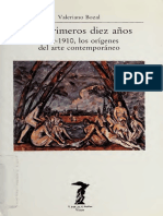 Bozal, Valeriano - Los primeros diez años. 1900-1910, los orígenes del arte contemporáneo