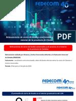 Relevamiento Cierre de Locales Comerciales - Informe Fedecom