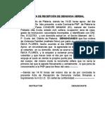 ACTA DE DENUNCIA VERBAL  VIOLENCIA  familiar copari.docx